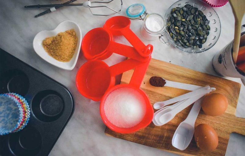 mjerne jedinice kuhinja kolači